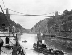 Hotwells, Bristol 1933 Clifton Suspension Bridge (foundin_a_attic) Tags: 1933 hotwells bristol