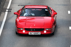 Ferrari, F355 F1, Wan Chai, Hong Kong (Daryl Chapman Photography) Tags: bz6683 ferrari f355 f1 italian pan panning hongkong china sar canon 5d mkiv 100400lii auto autos automobile automobiles car cars carspotting carphotography