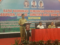 Banyak Kepala Daerah Tak Hadir Rakor, Gubernur Sumbar Kecewa (covesiacom) Tags: berita foto covesia