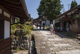 馬籠宿、中山道、日本 – Magomejuku, Nakasendō, Japan