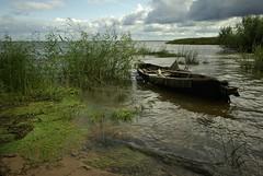 the boat and Russia (hommik) Tags: seascape peipsi piirissaar saar island colours suvi summer paat boat lake venemaa россия russia