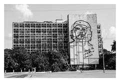 Che Guevara (rudeskull) Tags: urlaub vacation karibik caribbean kuba cuba havanna habana bw blanconegro bianconero blackandwith noiretblanc nikon n d300 digital