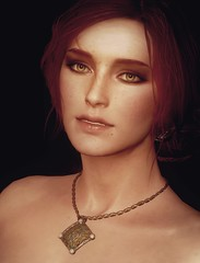Yearning (Stachmoon) Tags: yearning triss merigold witcher 3 wild hunt tw3 portrait video game gaming screenshot reshade digital art woman