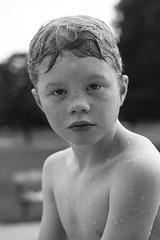 splash park 20 mm 8 (amanda_sd_lee) Tags: seven summer boy childhood freckles splash park lindsay eyes water sun august white black boyhood