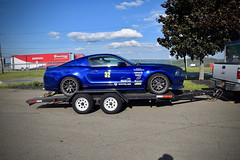 "Michael's S197 Mustang with 18x11"" EC-7 Wheels (ApexRaceParts) Tags: 18x11 wide 315s track racing s197 watkins glenn"