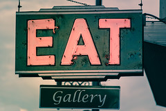 Eat (sniggie) Tags: maysville artgallery downtown eat finejewelry gallery jewelrygallery neonsign signage eatgallery sign