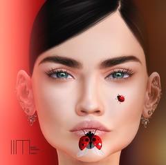 515 i am silent (lindalindalein mayo) Tags: deetalez le lutka tableau vivant azoury portrait porträt arte vanity event uber red black sl second life swallow