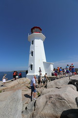 Peggys Cove Lighthouse (Peggys Cove, Nova Scotia) - Halifax Highlights and Peggy's Cove Excursion Pictures - (Adventure of the Seas - August 1st, 2018) (cseeman) Tags: adventureoftheseas royalcaribbean royalcaribbeansadventureoftheseas adventureoftheseasjuly27aug32018 adventurejuly272018 cruise newenglandandcanadacruise peggyscove peggyspoint canada novascotia atlanticcanada atlanticcanada2018 granite halifaxhighlightsandpeggyscoveexcursion lighthousesofatlanticcanada lighthousesofnovascotia lighthousesofcanada lighthouses lighthousesoftheatlanticocean shore oceans atlanticocean ocean water rocks clouds rclighthouses2018 peggyscovelighthouse