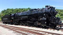 """St. Louis Museum of transportation 2018. (Chicago Rail Head) Tags: newyorkcentral mountain 2933 historical restoration museumoftransportation ondisplay 482 nyc""""steamlocomotive"""""""