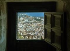 Almeria, Spain (mpszczolam) Tags: alcazaba almeria spain landscape espanol door window
