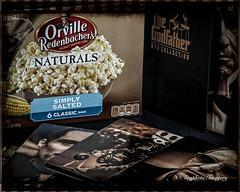 Movie Night (augphoto) Tags: augphotoimagery thegodfather food movie popcorn snack stilllife studio tabletop greenwood southcarolina unitedstates