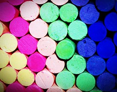 Colored chalk (www.icon0.com) Tags: color chalk yellow line blackboard orange drawing frame student school education silly background board rainbow ground red teacher leaf paint type pink blue first