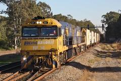 2BM2 at Thornton (Matt (thebigman)) Tags: nsw pn nrclass intermodal