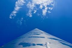 The Spire, Dublin (jpdu12) Tags: spire dublin irlande ireland jpdu12 jeanpierrebérubé nikon d5300 ciel monument bleu acier steel