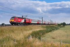 43367 passing Temple Hirst Junction (ThanksDrBeeching) Tags: train railway pociąg kolej zug bahn eisenbahn hst lner class43 43367 templehirst ecml vtec eastcoastmainline