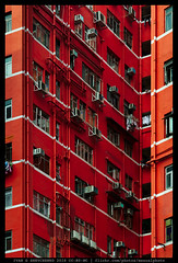Red Density (reassembling.visions) Tags: 香港 гонконг china carlzeiss manualfocus manuallens nikond800 darktable asia spring hongkong architecture archonly repeatingpatterns perspectivecorrection aposonnart2135