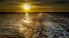 Crossing Paths (Yuri Dedulin) Tags: europe eu travel tourism lacoruna spain atlantic ocean water sun sunset sunglitter glitter sparklingpath night clouds colors dramatic beautiful yuridedulin norwegianjade ncl ship cruise 2018 bayofbiscay bay biscay