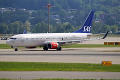 Scandinavian Airlines - SAS Boeing 737-86N LN-RGG (M. Oertle) Tags: scandinavianairlines sas boeing 73786n