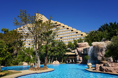 Sun City Resort, South Africa (mattk1979) Tags: southafrica northwest suncity resort casino country buildings hotel sun outdoors sky swimming pool