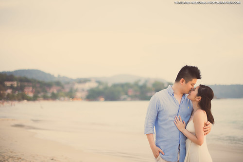 Kata Beach Phuket Thailand Wedding Photography
