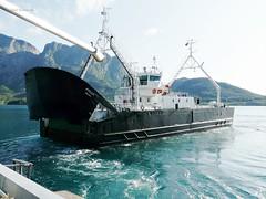 """""""Fykan"""" (OlafHorsevik) Tags: ferge ferga ferje ferja ferry jektvik fykan hurtigruten torghatten nord thn"""