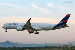 PR-XTE Airbus A350 Latam (@Eurospot) Tags: prxte airbus a350 latam tam bcn lebl barcelone a350900