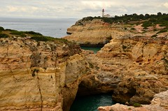 Hiking the Precurso de los Sete Vales Suspensos (tonyfernandezz) Tags: portugal rockformation cliff cave coast lighthouse algarve