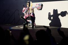 Aquaria - Flip Phone Gaga vs Madonna at Muse Events Center Minneapolis 2018-08-17 (Darin Kamnetz) Tags: rupaulsdragrace drag dragqueen aquaria