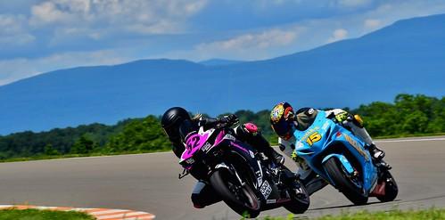Alan Wilzig Clem Lapeyre Riding Motorcycles