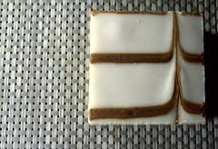 Bakewell Slice (Tony Worrall) Tags: add tag ©2018tonyworrall images photos photograff things uk england food foodie grub eat eaten taste tasty cook cooked iatethis foodporn foodpictures picturesoffood dish dishes menu plate plated made ingrediants nice flavour foodophile x yummy make tasted meal nutritional freshtaste foodstuff cuisine nourishment nutriments provisions ration refreshment store sustenance fare foodstuffs meals snacks bites chow cookery diet eatable fodder bakewell slice cake bake square block shape sweet sugar pattern