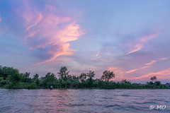 Pink spirit (mathieuo1) Tags: vietnam asia east world mekong south delta pink landscape seascape scape waterscape shore water river boat sun sunset sundown dawn sunbath light illumination illustration country view wide wideangle panorama art artistic graphism clouds sky nikon dlsr fullframe photography rules lines composition detaims details explore discover travel work colors peace mood feel mathieuo