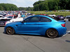 BMW M2 (911gt2rs) Tags: treffen meeting show event tuning tief low stance 2er coupe bimmer f87 f22 blau blue custom oz felgen wheels rims