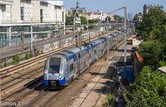 13115 Paris St Lazare - Rouen Rive Droite (bb_17002) Tags: railway train idf paris locomotive automotrice landscapes ville city transport soleil ciel z26500 ter normandie sncf rouen