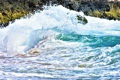 Wave (thomasgorman1) Tags: beach nikon molokai hawaii sea ocean shore breaking nature crashing oahu makaha rock lavarock