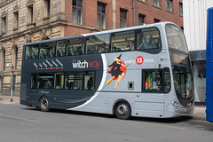 Transdev WitchWay BF63HCY (Mike McNiven) Tags: transdev blazefield theburnleybuscompany wright eclipse gemini2 volvo burnley manchester skipton chorltonstreet