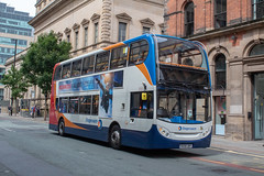Stagecoach MX08UBV (Mike McNiven) Tags: manchester citycentre transport