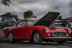 Maserati DSC_4164 (ikerekes81) Tags: maserati car closeup carsandcoffee carsandcaffeemd md maryland motorvehicle motor vehicle outdoor outside old vintage vintagecar nikond500 nikon d500 18105mm istvankerekes istvan ik kerekes streetphotography