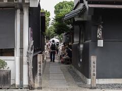 Narrow path (odeleapple) Tags: olympus e5 zuiko digital 35mm zd path tourist kawagoe