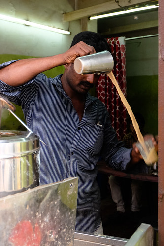 Chai time. Kerala, India, 2018