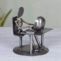 Auto parts Metal Geek Sculpture (mywowstuff) Tags: gifts gift ideas gadgets geeky products men women family home office