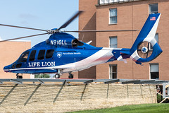 N916LL (✈ Greg Rendell) Tags: 2011 chester eurocopterec155b1 n916ll pennstatehealthlifelioncriticalcaretransport private aircraft aviation ccmc chopper crozerchesterheliport crozerchestermedicalcenter flight gregrendellcom helicopter pa pennsylvania ps65 spotting brookhaven unitedstates us