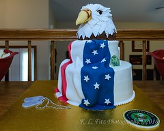 Eagle Retirement Cake (kevnkc2) Tags: stdntsdoncooper lightroom pennsylvania cake decorated patriotic celebration nikon d610 tamron 2470mmg2 sp2470mmf28divcusdg2a032