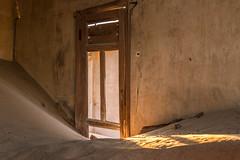 Kolmanskop ghost town (Tim&Elisa) Tags: namibia africa kolmanskop lüderitz ghosttown canon sand house namibdesert