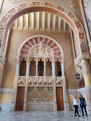 Hospital de la Santa Creu i Sant Pau (Carlos J. M.) Tags: barcelona catalunya arquitectura architecture modernismocatalán samsung