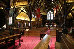 Sanctuary in the city (Karen Pincott) Tags: church cathedral wellington anglican wooden nativetimbers newzealand capitalcity gothicrevivalarchitecture weddingvenue