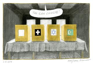 Wolfram Zimmer: Polling station - Wahllokal