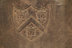 Three Kings (Jeremy Caney) Tags: 16thcentury 17thcentury arms burialgrounds cemeteries cemetery coatofarms crowns dundee faces gravemarker graveyard greatbritain headstones howff king kings marker prince princes royal scotland shield threekings tomb tombstone tombstones travel trinity unitedkingdom