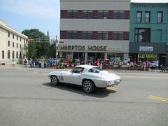 White Corvette Stingray (smaginnis11565) Tags: chevrolet corvettestingray mark2corvette independenceday parade montclair newjersey essexcounty 7418