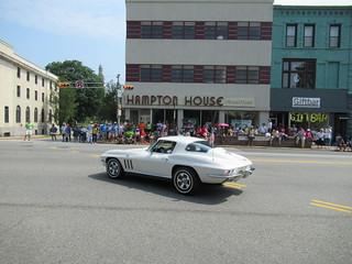 White Corvette Stingray