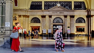 Barcelona railway station